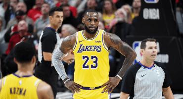 Los Lakers perdieron su primer partido con LeBron James ante Portland