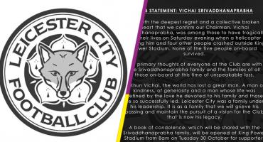 Leicester confirma la muerte de su presidente y cuatro personas más