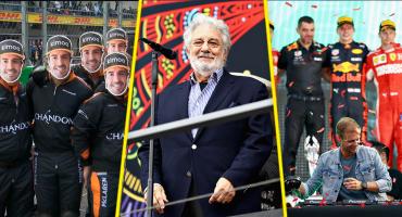 Lo que no se vio del Gran Premio de México