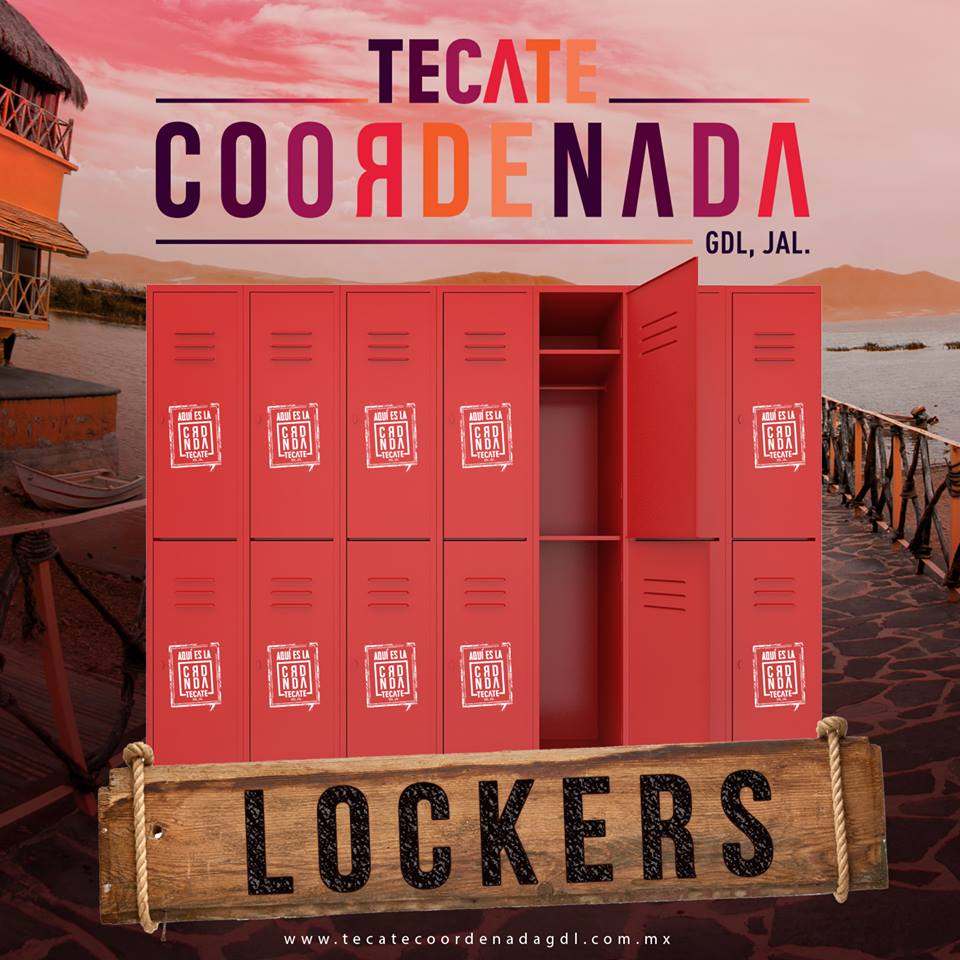 Lockers en Coordenada