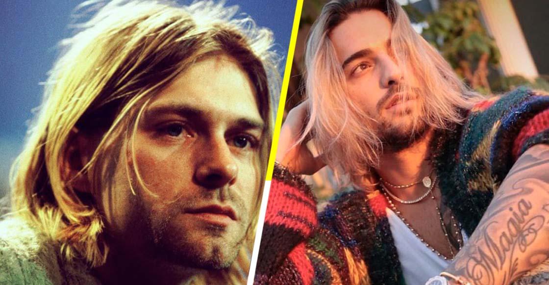 Confunden a Maluma con Kurt Cobain