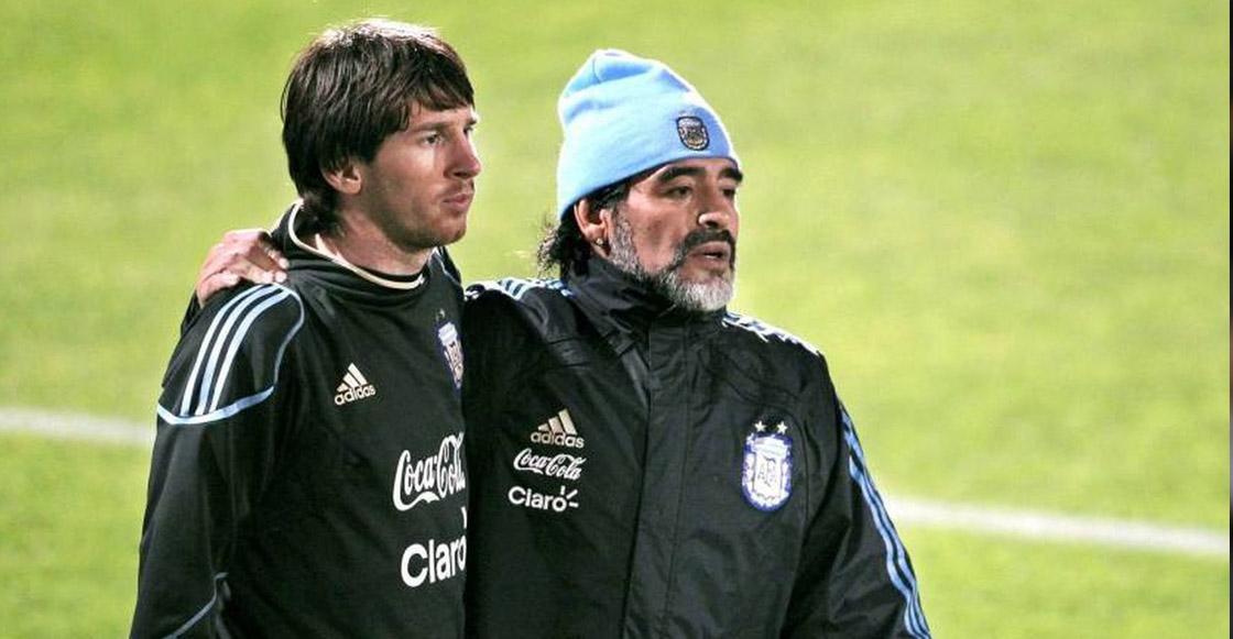 Deportivo: Duras críticas de Maradona contra la figura de Lionel Messi