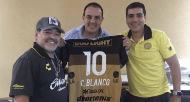 ¡Encuentro entre leyendas! Maradona se reúne con Cuauhtémoc Blanco en Morelos