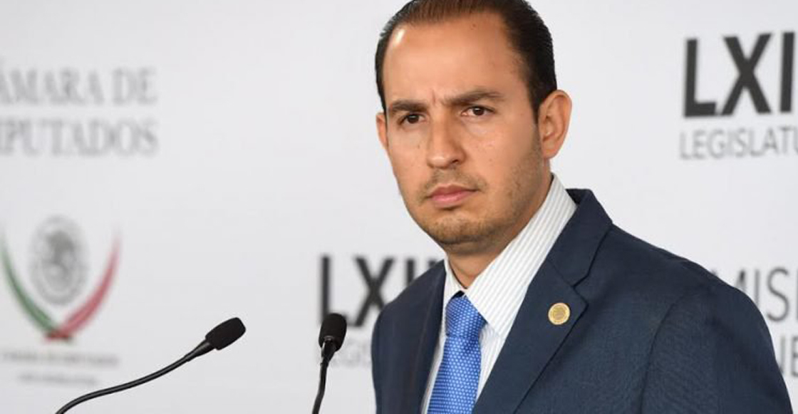El líder del PAN, Marko Cortés, reta a Sánchez Cordero a hacerse la prueba del polígrafo