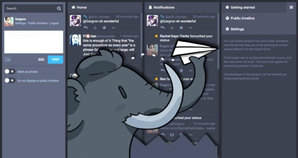 Mastodon, la red social de la que todos están hablando