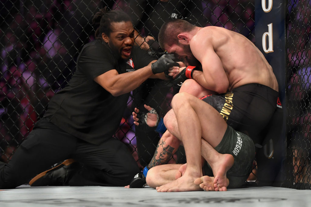 UFC229 - McGregor vs Khabib