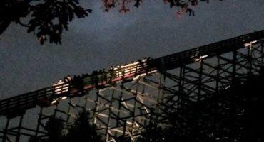¡Vaya sustito! Reportan falla en la Medusa de Six Flags México