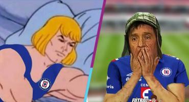 Aquí vienen los memes al rescate del aburrido Cruz Azul-América