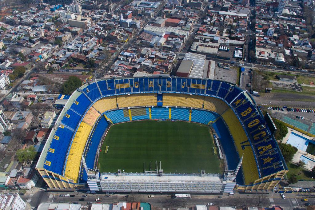 La Bombonera de Boca Juniors