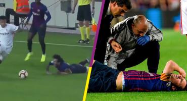 La lesión de Messi enciende los focos rojos en el Barça