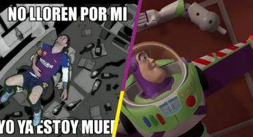No estén tristes, ya llegaron los memes de la lesión de Messi 😭