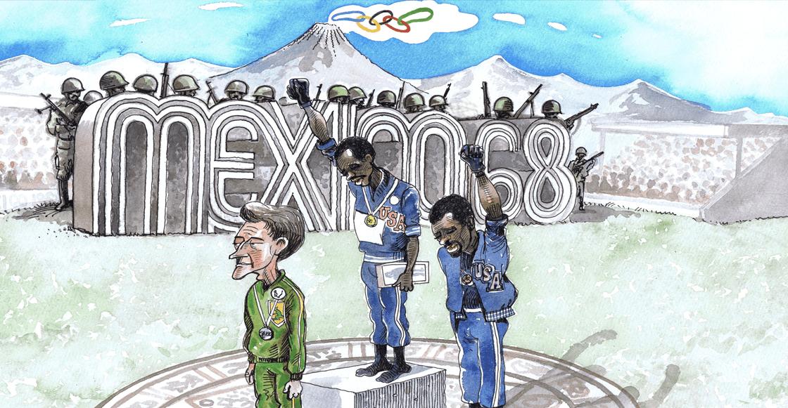 A 50 años de México 68: El héroe desconocido del Black Power