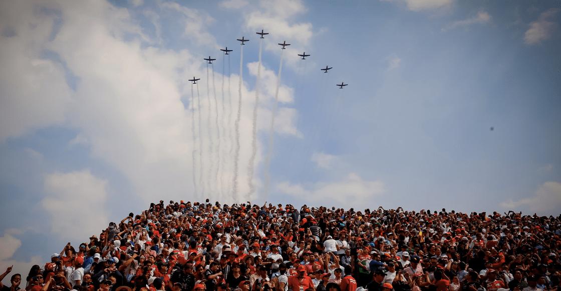 Así será la ceremonia de inauguración del Gran Premio de México