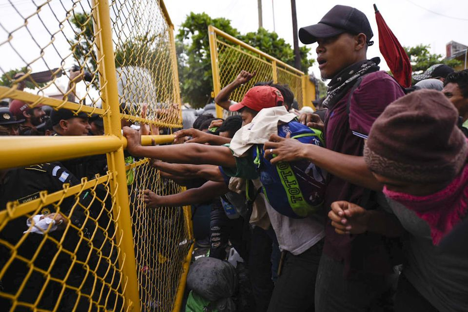 Muere migrante hondureño en enfrentamiento con PF en frontera México-Guatemala