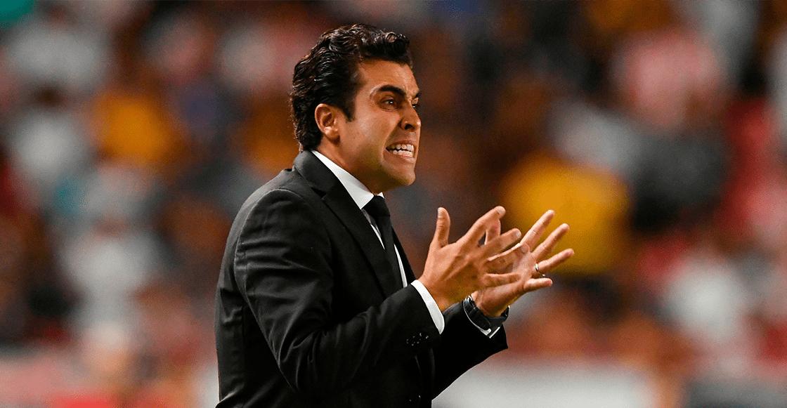 Marcelo Michel Leaño deja de ser técnico del Necaxa