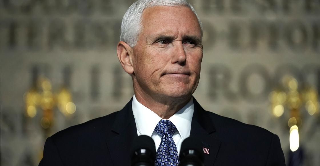 Mike Pence afirma que la caravana migrante fue financiada por Venezuela