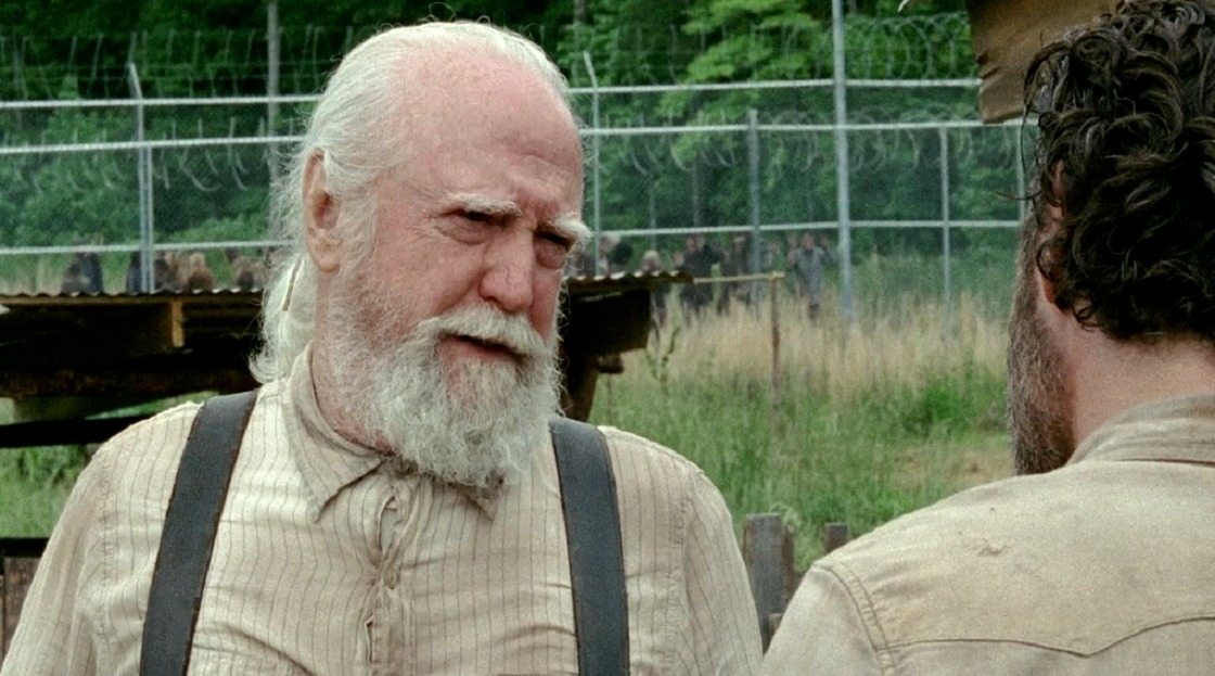 Muere Scott Wilson, actor que interpretaba a Hershel Greene en 'The Walking Dead'