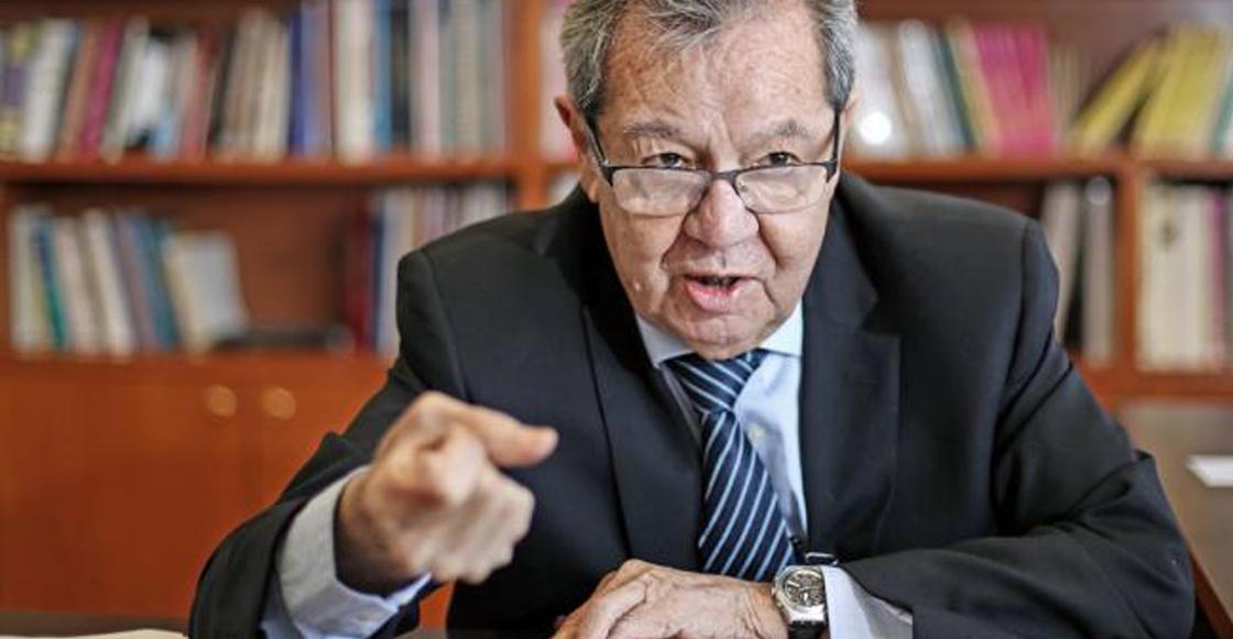 ¡Tsss! Dice Muñoz Ledo que los diputados no van a financiar la consulta del aeropuerto