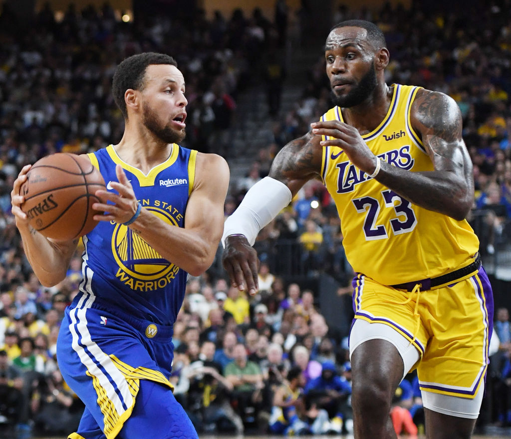 Lakers y Golden State