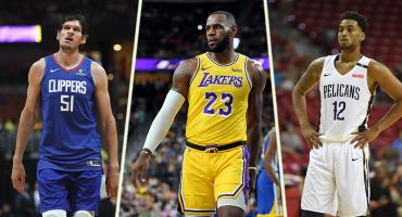 Clippers y Utah, los únicos invictos: Lo que nos dejó la pretemporada de la NBA