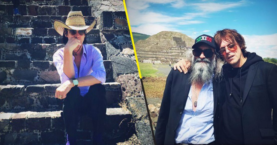 The view from a distant sky: Nick Cave visitó las pirámides de Teotihuacán