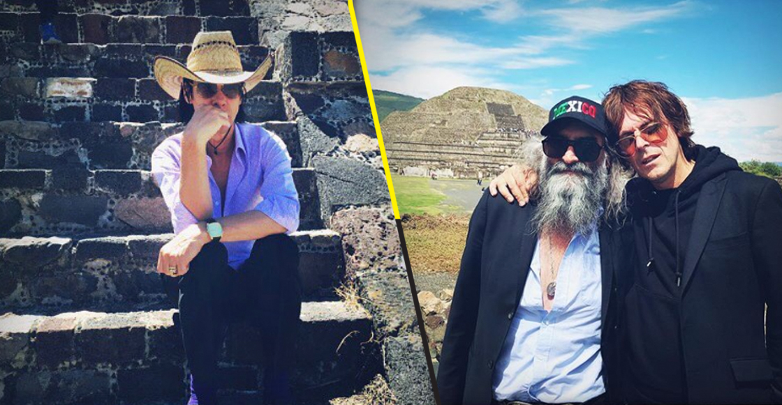 The view from a distant sky: Nick Cave visitó las pirámides de Teotihuacán