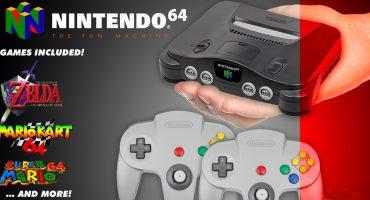 ¿Será? El Nintendo 64 mini podría llegar a finales de 2018