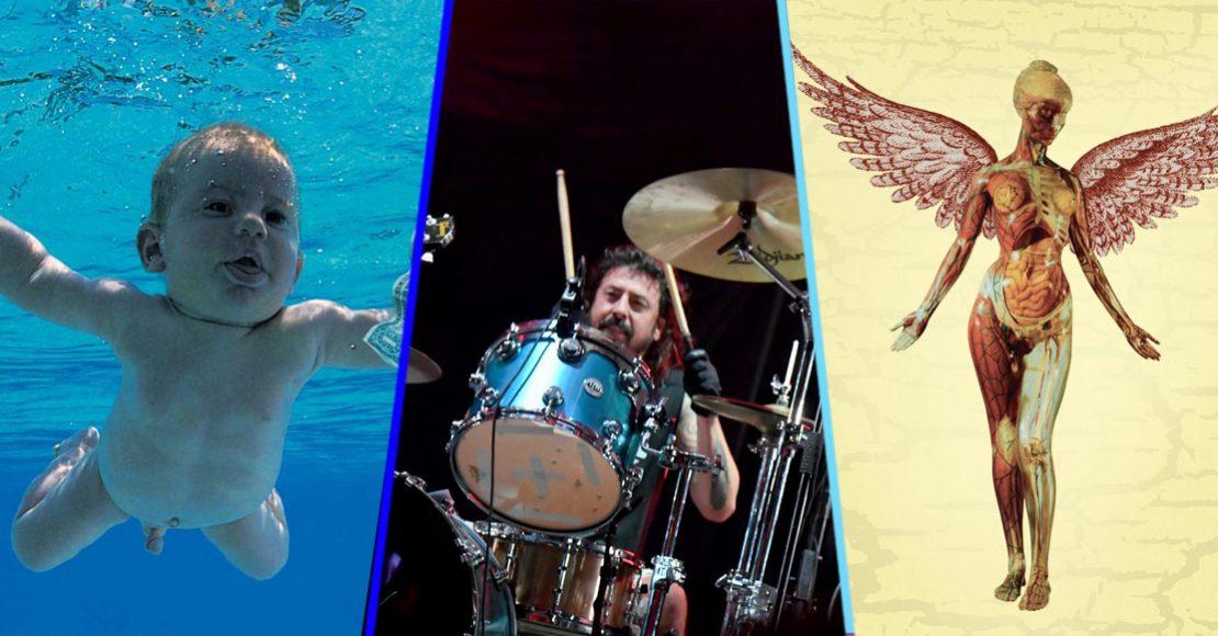 Estas fueron las 6 rolas de la 'reunión' de Nirvana en el Cal Jam 2018