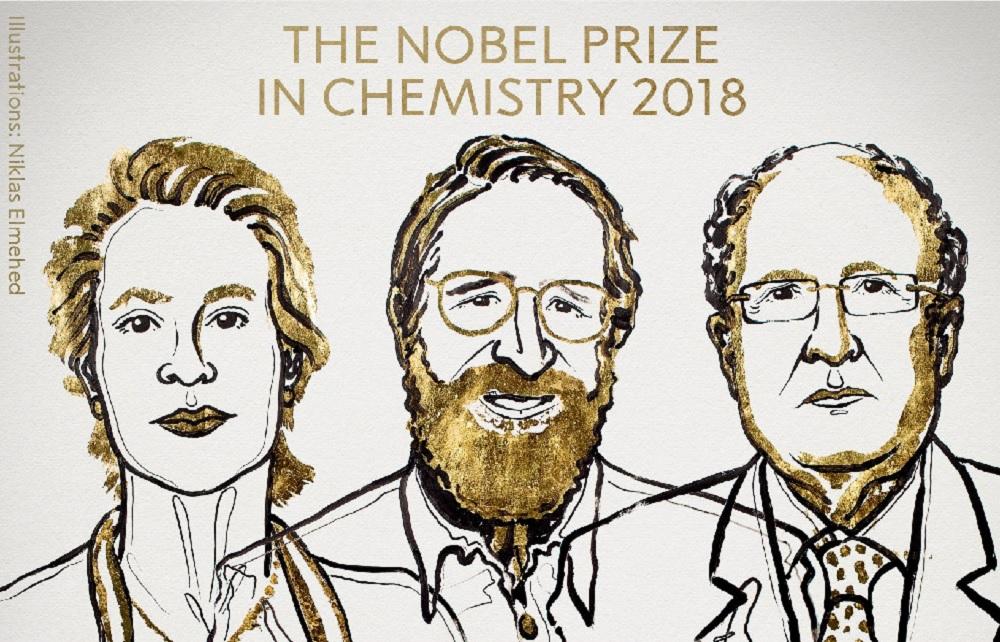 ganadores del Premio Nobel de Química 2018