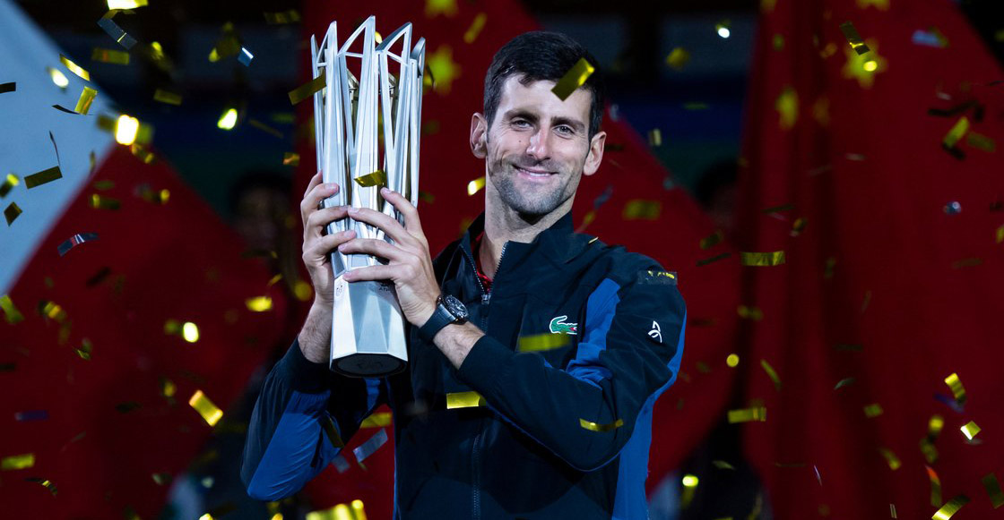 ¡Así se gana, Federer! Djokovic se consagra Campeón del Masters 1000 de Shanghái