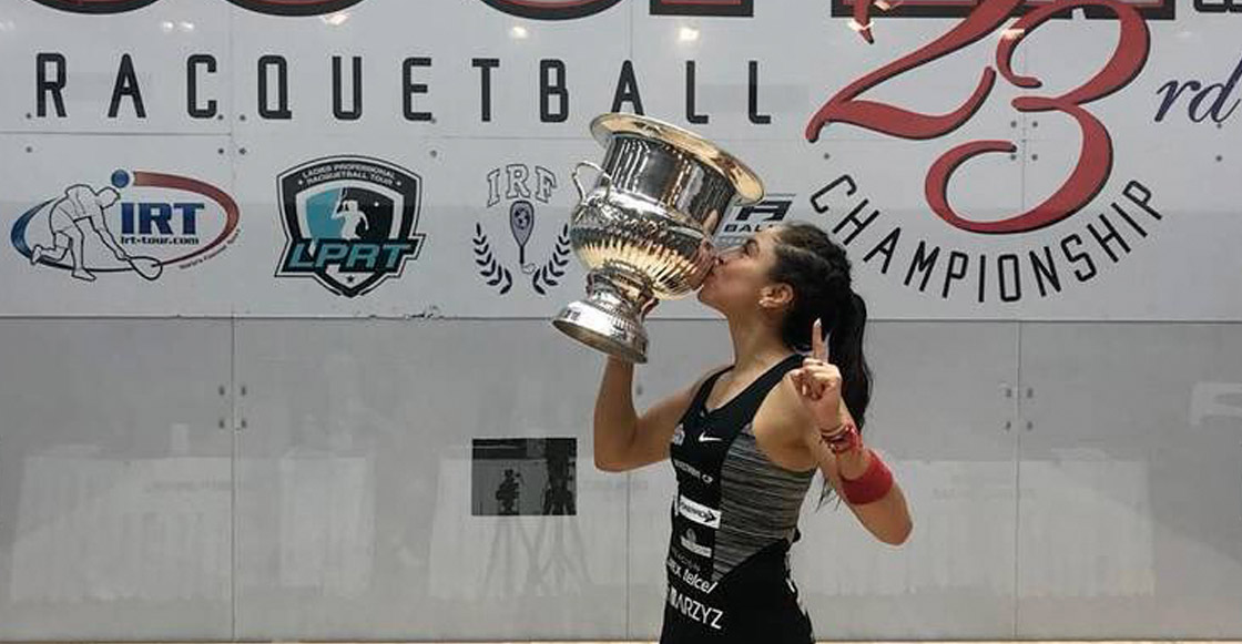 ¡Mexican Power! Paola Longoria conquistó el US Open por novena vez