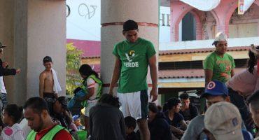 ¿Es en serio? Partido Verde 'uniforma' a la Caravana Migrante