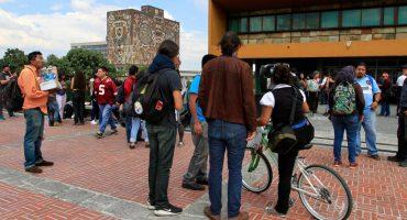 Estudiantes amenazaron con plantón frente a Torre de Rectoría de la UNAM