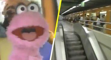 Con esta canción Plaza Sésamo promovía el uso del metro de la CDMX