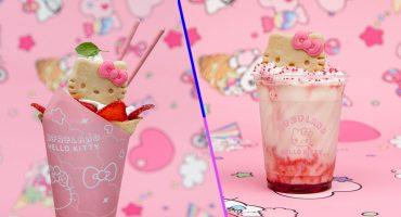¡Hello Kitty llega en forma de postre gourmet a México!
