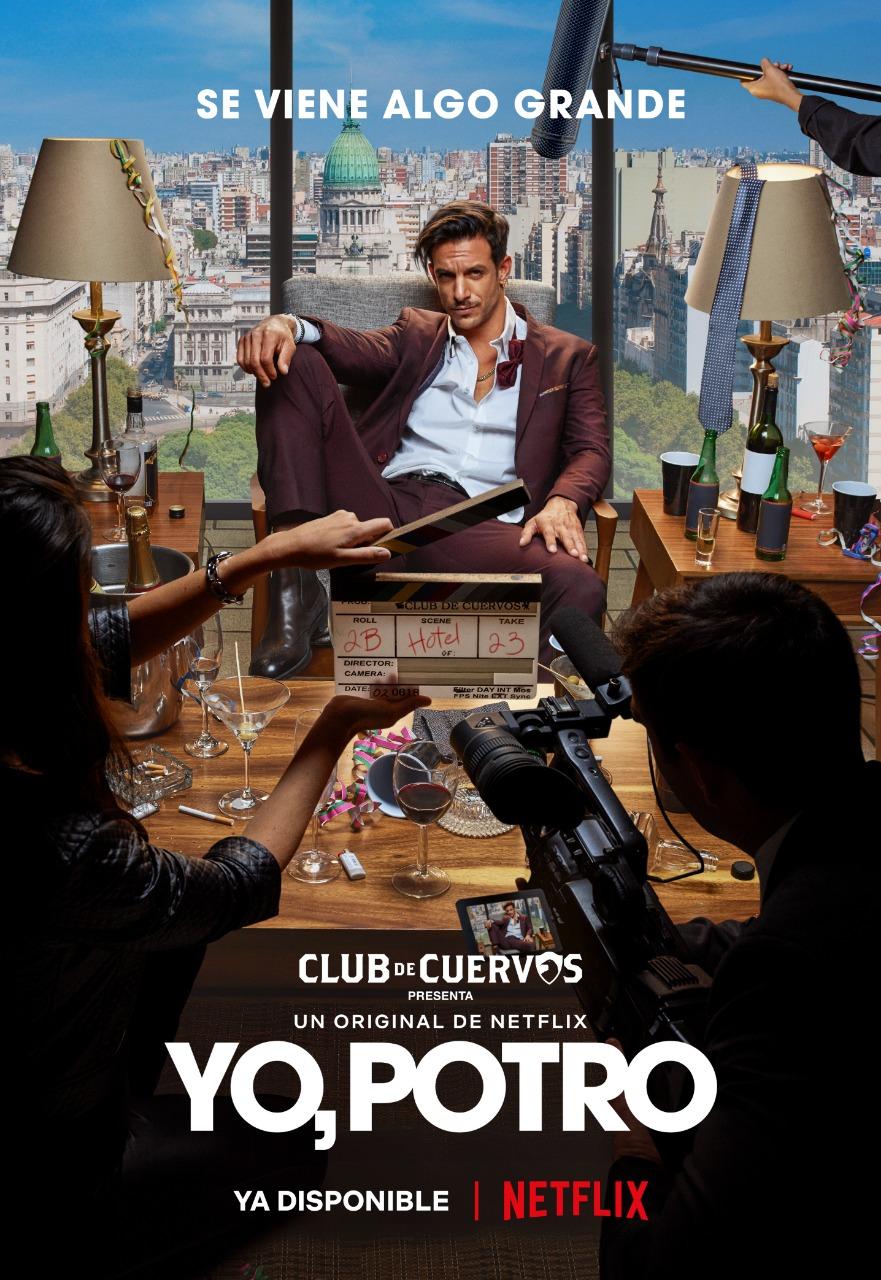 Netflix anuncia el segundo spin off de 'Club de Cuervos' titulado 'Yo, Potro'