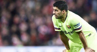 ¡Sin colmillo! Luis Suárez no anota gol de visita en la Champions desde el 2015