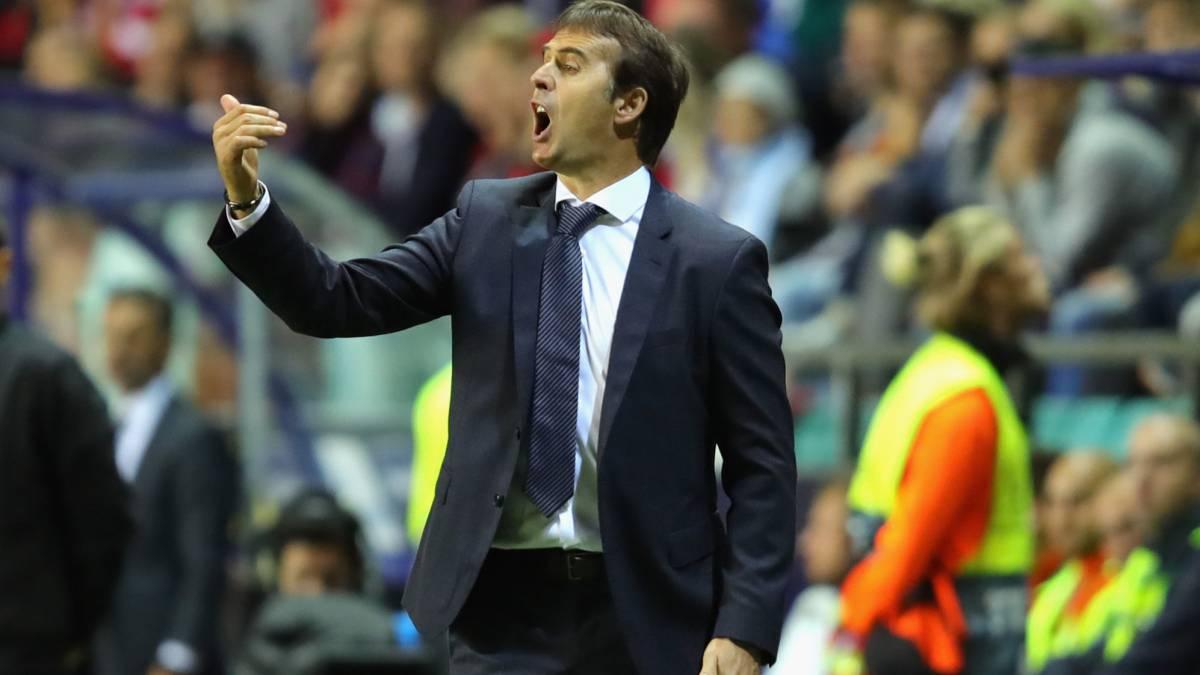 Oficial: El Real Madrid despide a Julen Lopetegui