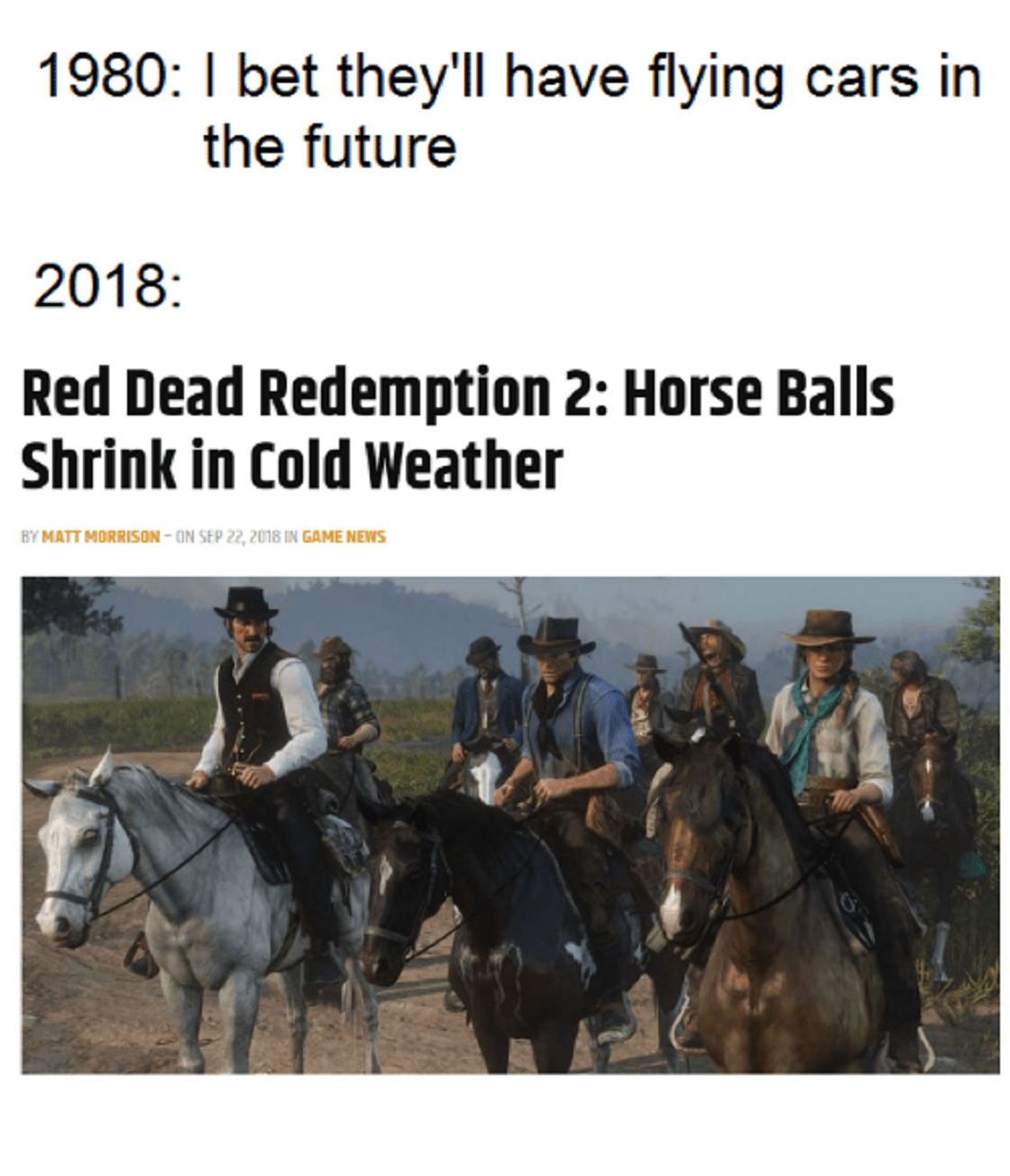 Red Dead Redemtion 2 – Memes
