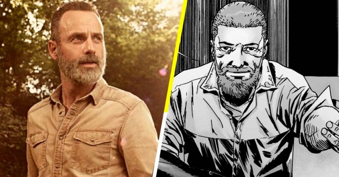 Rick Grimes - versiones de serie y cómic