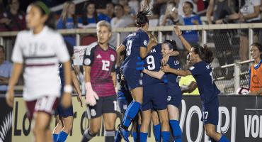 EU le mete media docena de goles al Tri Femenil en el arranque del Premundial