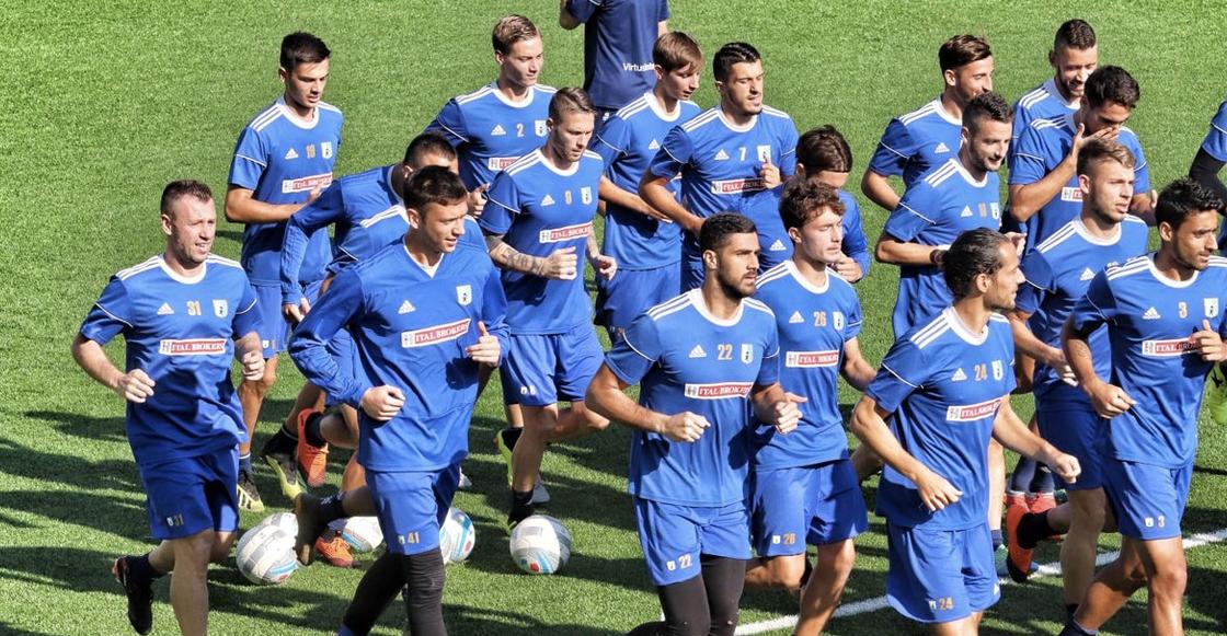 ¡Increíble! Un equipo de futbol profesional en Italia no tiene liga para jugar