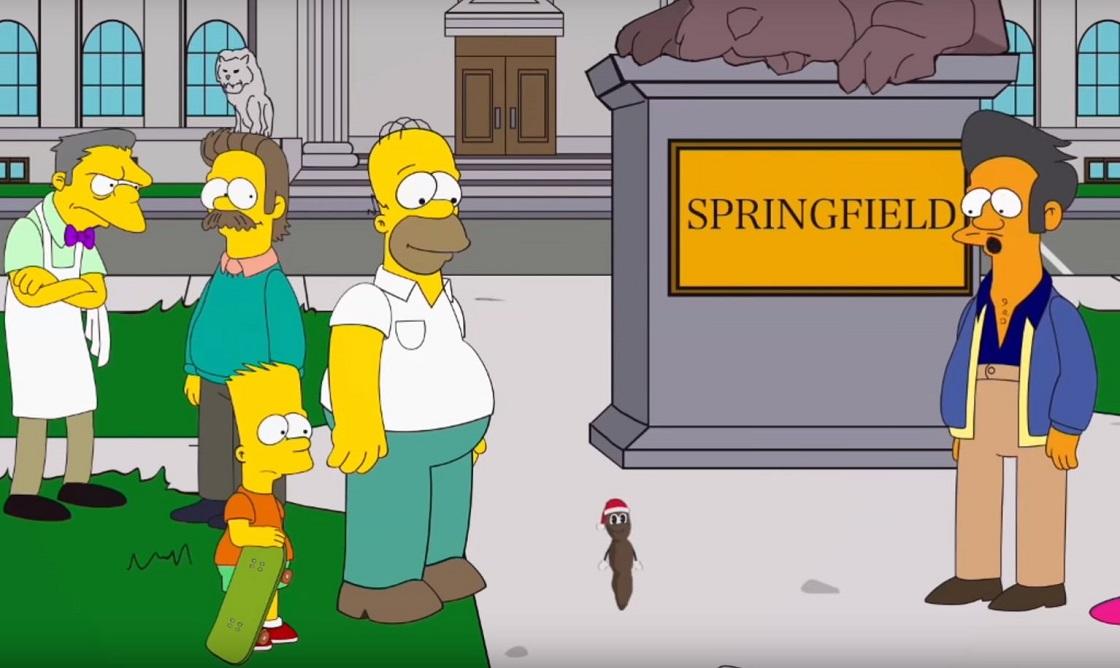 South Park acusa a Los Simpson de ser intolerante y racista