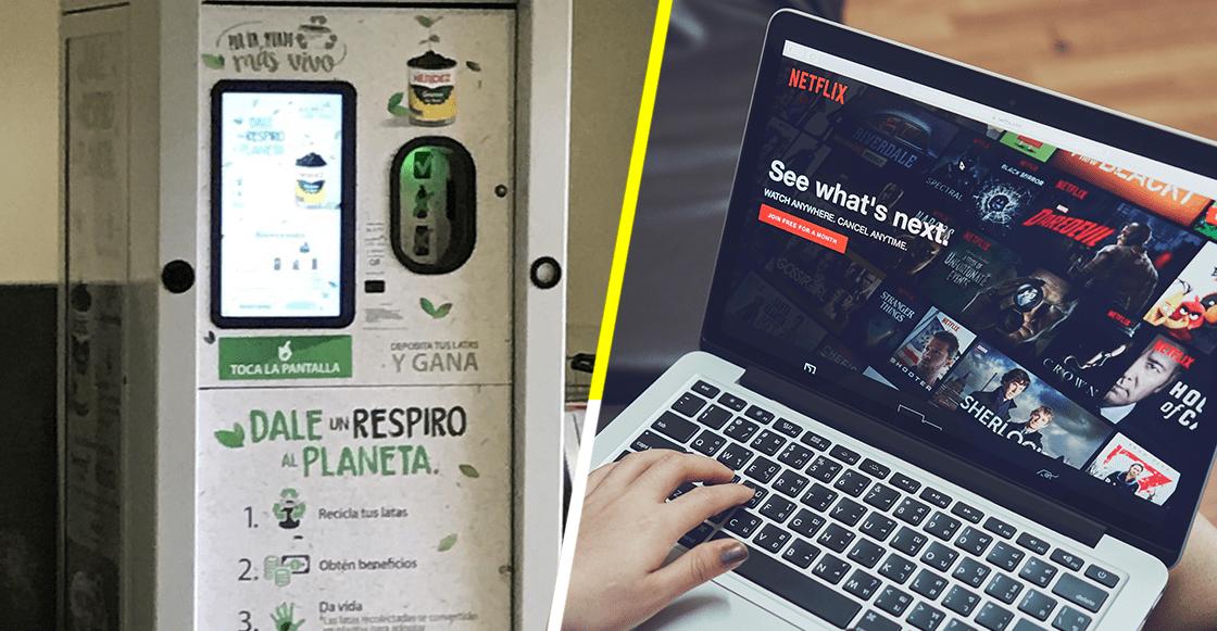 Checa esta iniciativa de reciclaje con la que hasta puedes pagar Netflix