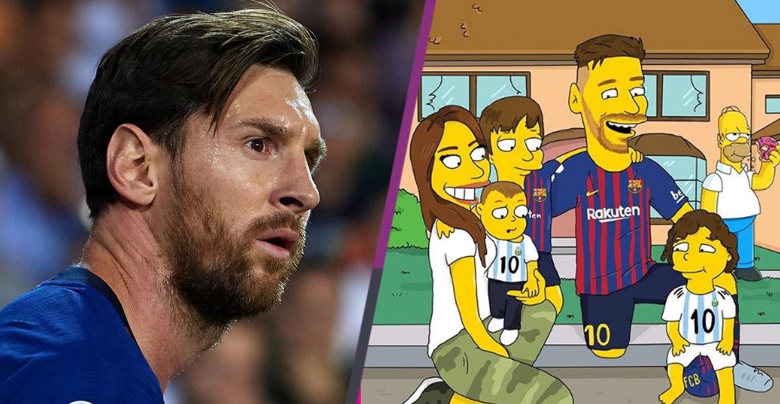¿Cómo lucirían Messi, Marcelo e Icardi al estilo Simpson? ¡Checa estas fotos!