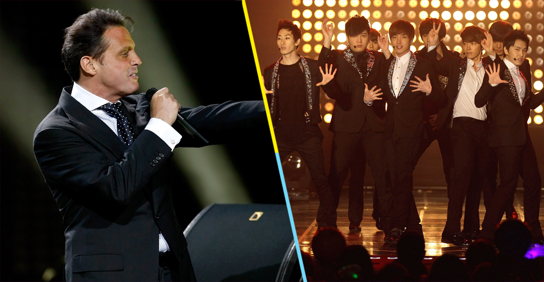 ¡Fuuusión K-pop! Super Junior coverea 'Ahora te puedes marchar' de Luis Miguel