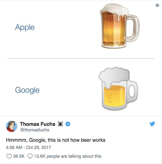 Los emojis rediseñados por la presión social