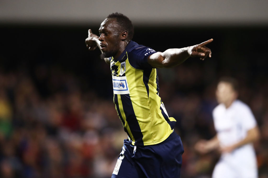 Usain Bolt como jugador profesional
