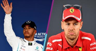 ¡Ye denle el título a hamilton! Vettel largará noveno en el GP de Japón