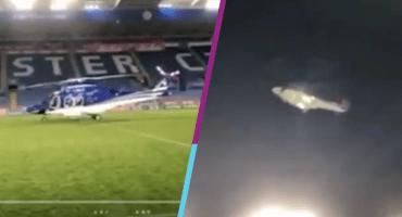 Primeras imágenes completas del accidente del helicóptero del dueño del Leicester